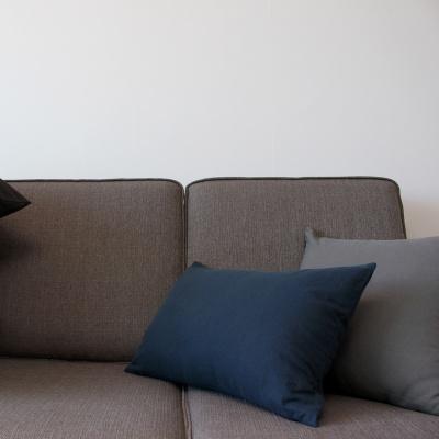 주조밍 도쿄 닮은 린넨 쿠션커버 45x45, 50x35 dark series