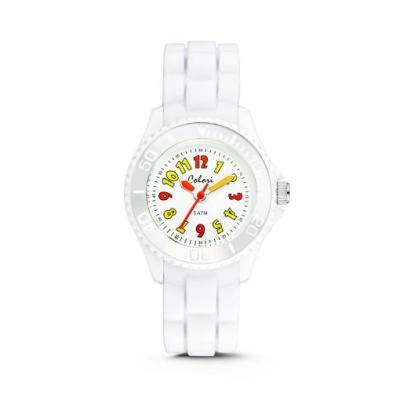NEW 컬러리 넘버(화이트) 어린이시계  키즈시계