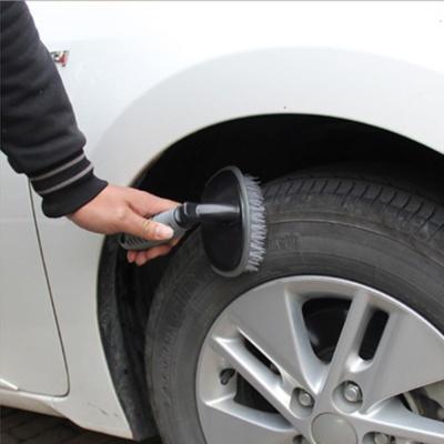 차량용 자동차 세차 휠 타이어 브러쉬 타이어솔