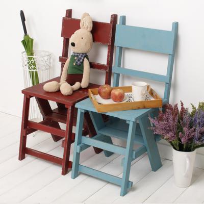 빈티지 의자겸 사다리-2color