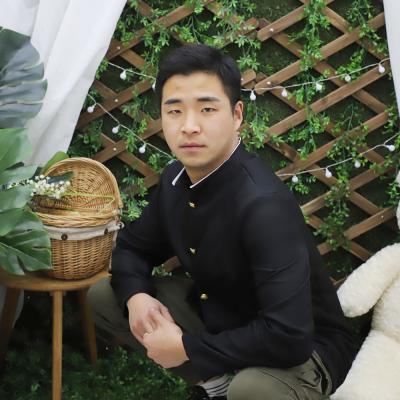 옛날 복고 남자 교복 (상의)