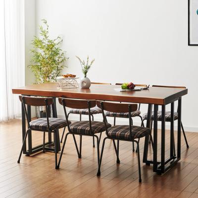 코디 1800x800 우드슬랩 식탁 6인용 테이블