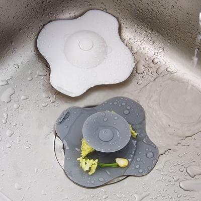 원터치 싱크대 욕실 배수구 마개