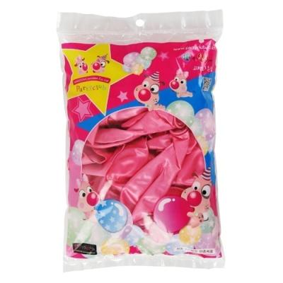 [해동이노베이션] 30cm펄풍선 (50입) 핑크 [봉/1] 239520
