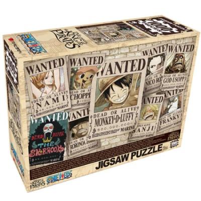 원피스 퍼즐 뉴 현상수배 ver.2 1000 피스 직소퍼즐