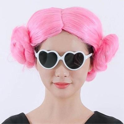 양머리가발(핑크) 행사용가발 공연가발 파티가발