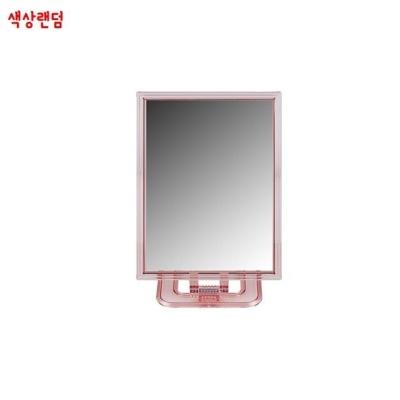 탁상용 사각거울 중(약12.5x17cm) 색상랜덤 각도조절