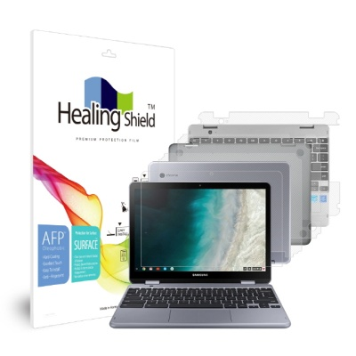 삼성 크롬북 플러스 V2 올레포빅 액정1매 외부3종세트