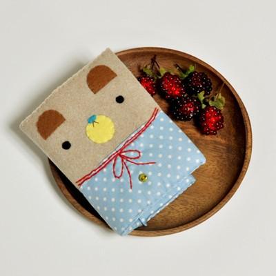 러브모드 카드지갑 - 블루 만들기