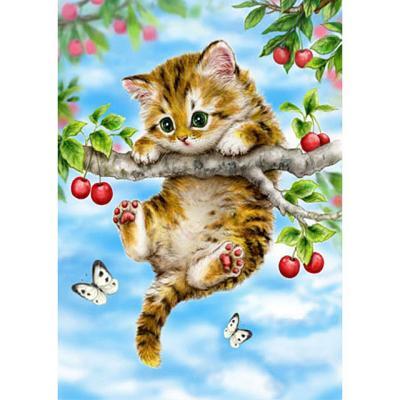 체리나무 위 아기고양이 [500피스/직소퍼즐/HP504]