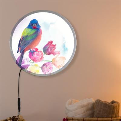 nh157-LED액자25R_아름다운꽃과새그림