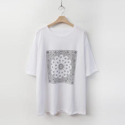 Paisley Cotton Tee