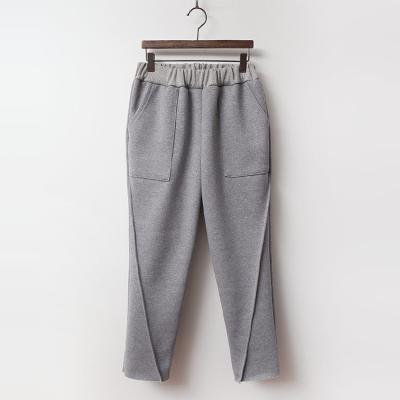 Day Baggy Knit Pants - 기모안감