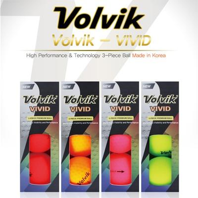 볼빅 비비드 volvik vivid 6구세트 칼라볼 3pc