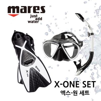 스노쿨링세트 MARES X-ONE 마레스 엑스원