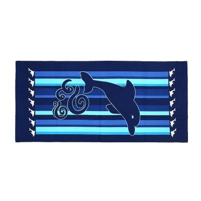 극세사 대형 비치타월 돌고래 물놀이타월