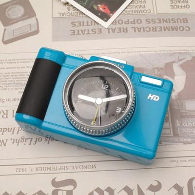 DSLR 카메라 알람시계 - 블루