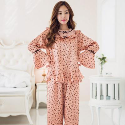 [쿠비카]여성잠옷 러블리 샤무즈 투피스 BNBR-W849