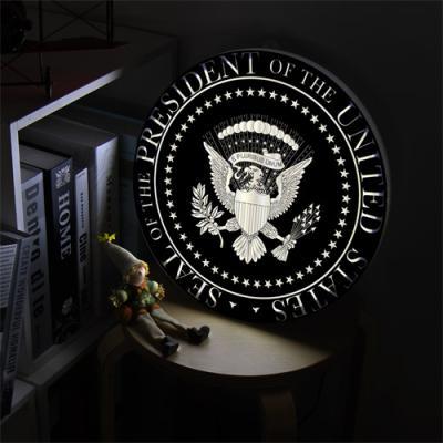 ne473-LED액자35R_미합중국심벌