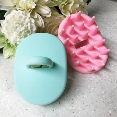 간편 마사지 샴푸 브러쉬 1개(색상랜덤)