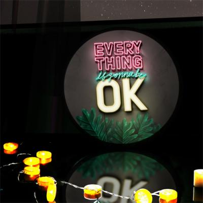 ne582-LED액자45R_Everythings is gonna be ok