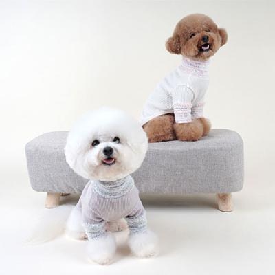강아지겨울옷 별사탕터틀넥