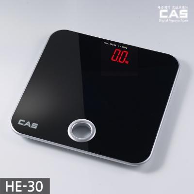 카스(CAS) 프리미엄 매직글라스 디지털 체중계 HE-30