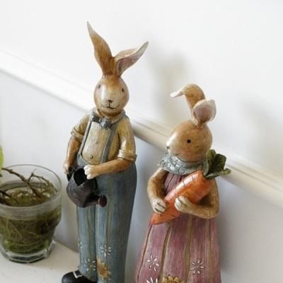 [2HOT] 파머스 토끼 장식인형 2P