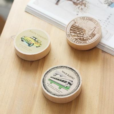 [콩지] DIY 우드 자석 오프너