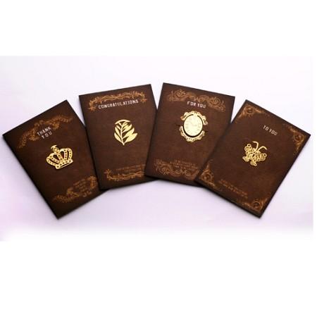 엔틱 종려나무 - 책갈피카드