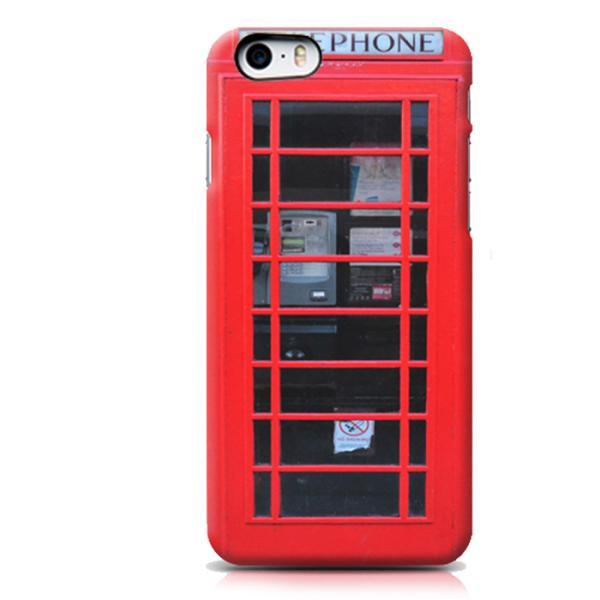 프리미엄 레드 영국 전화박스(아이폰5/5S)