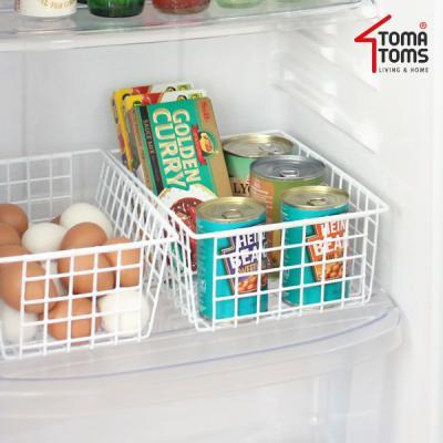 [토마톰스]냉장고 다용도 정리바구니 대