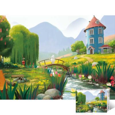 무민 숲속 정원 [500피스/직소퍼즐/TPD05-502]