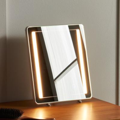 뷰티 LED 화장대 탁상 조명 거울 소형