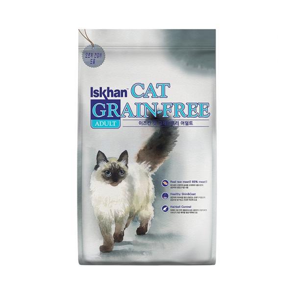 이즈칸 캣 그레인프리 어덜트 6.5kg 고양이 사료
