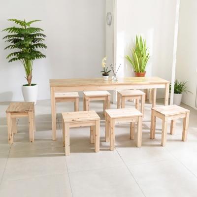 원목 사이드 인테리어 테이블 1600x300 긴책상