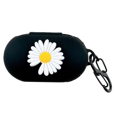 갤럭시버즈 플러스 1 2세대 국화꽃 실리콘케이스 키링