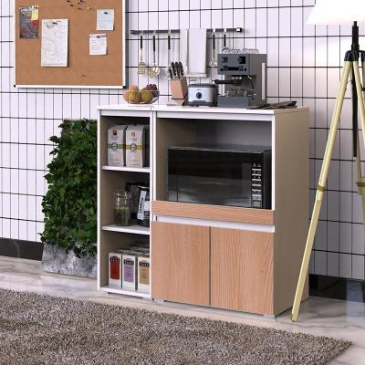 제슨 모던 주방 수납 렌지대 세트 오픈형 900