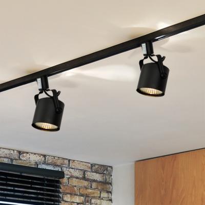 뉴 원통 스포트 1등 레일형 (LED겸용/카페조명/포인트조명)