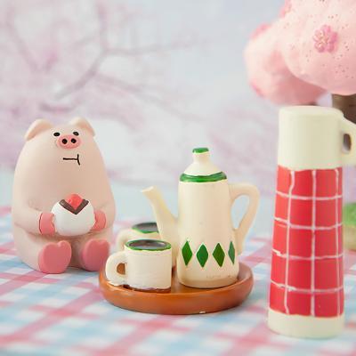 데꼴 2019 티타임그린 피규어 strawberry edition
