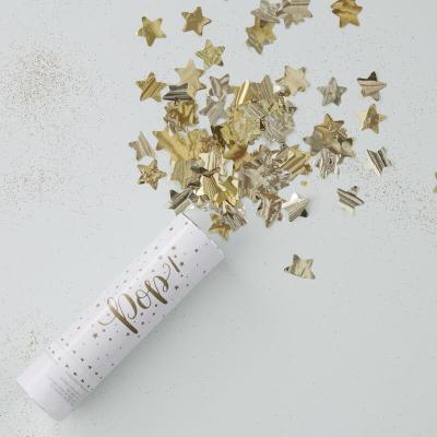 골드 별 컨페티 캐논 Gold Star Confetti Cannon