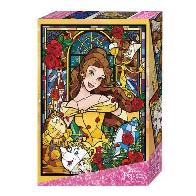 디즈니 글라스아트 미녀와 야수 500피스 직소퍼즐