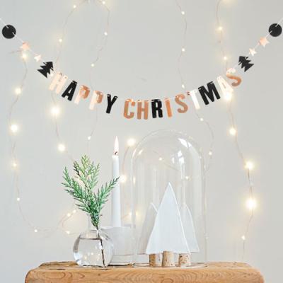 미니 반짝이는 크리스마스 가랜드
