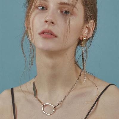 Unbalanced Chain Mix necklace