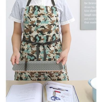 [CONZ] 밀리터리 허리끈 앞치마 (목걸이형)
