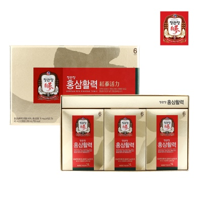[정관장] 홍삼활력 40ml*30포