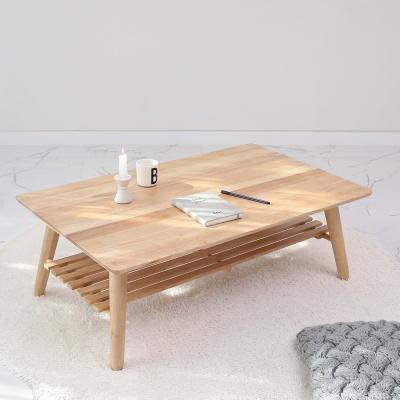 [벤트리] 접이식 원목 젠 테이블 100