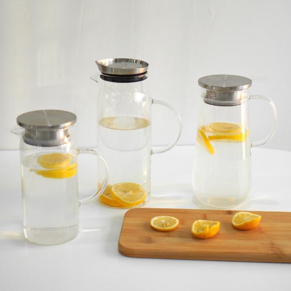 세이타 젬마 유리물병 1200ml 카페 레스토랑