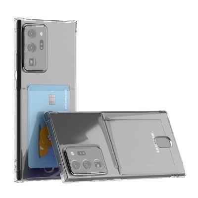 갤럭시 노트20 울트라 아이스핏 에드온 TPU 카드 케이