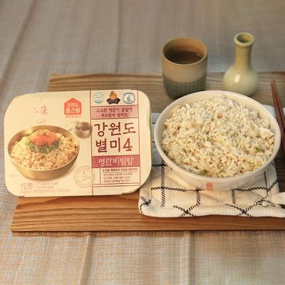[건강한 한끼] 유기농쌀 일품 명란비빔밥 210gx3팩